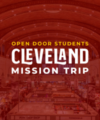 Students Cleveland Mission Trip