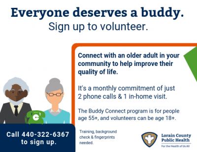 Lorain County Public Health: Older Adults Buddy Connect